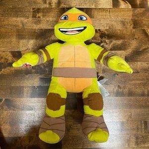 Build A Bear Michelangelo Ninja Turtle Plush TMNT